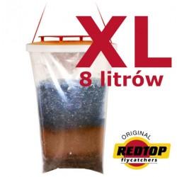 REDTOP XL pulapka na muchy 8l. wielorazowa